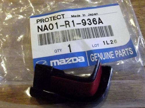 Hardtop rear edge protector end cap, r/h, Mazda MX-5 mk1 & mk2, hard top right hand, NA01R1936